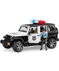 Bruder Jeep police et policier - multicolore