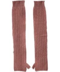 Benetton Mitaines en laine et cachemire - rose clair