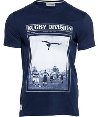 Rugby Division Neck Penalty - T-Shirt - marineblau