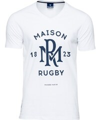 Rugby Division Neck Monceau - T-Shirt - weiß