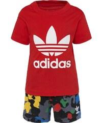 adidas Originals SET TShirt print vivid red/black/white