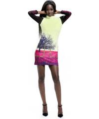 Culito from Spain barevné šaty Arbol