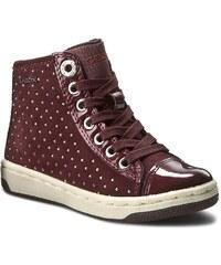 Sneakersy GEOX - J Creamy A J64L5A 022HI C7357 Dk Burgundy