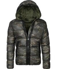 Stegol Zimní bunda s maskáčovým vzorem STEGOL 128 KHAKI