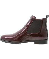 Maripé Boots à talons bordeaux