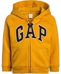 GAP Sweat zippé yellow
