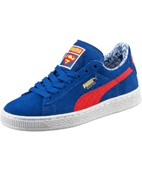 Puma SUEDE SUPERMAN Sneaker low limoges/high risk red
