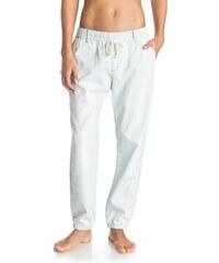 Roxy Beachy Beach Denim Beach Pants, modrá, XS
