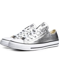 Converse Tenisky Chuck Taylor All Star Metallic Silver