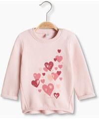 Esprit Sweat-shirt à cœurs imprimés