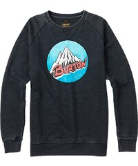 Burton Retro Mountain Crew true black heather