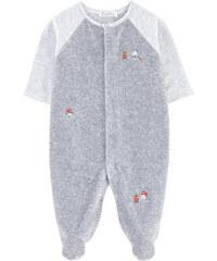Kissy Kissy Pyjama aus Samt und Jersey