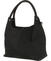 YooY Jednoduchá elegantní kabelka přes rameno černá