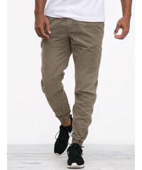 Urban Classics Washed Canvas Jogging Pants Olive TB1434