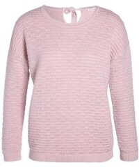 Pull maille fantaisie noeud dos Rose Coton - Femme Taille 3 - Cache Cache