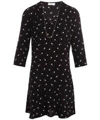 Robe motif étoiles bijoux Noir Polyester - Femme Taille 36 - Cache Cache