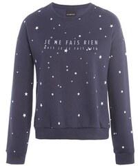 Sweat à message étoiles Bleu Coton - Femme Taille 0 - Cache Cache