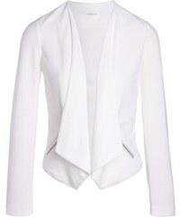 Veste blazer unie à pans Blanc Elasthanne - Femme Taille 0 - Cache Cache