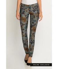 Orsay Skinny Jeans mit Blumen-Muster