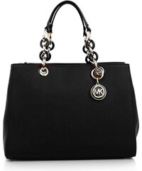 Michael Kors Cynthia MD Satchel Black