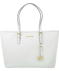 Michael Kors Jet Set Travel MD TZ Multifunction Tote Optic White
