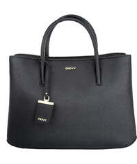 DKNY Bryant Park Saffiano City Zip Black