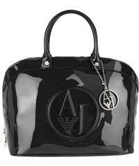Armani Jeans Bugatti Top Handle Bag Nero