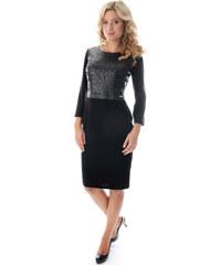 Semper Dámské šaty s kůží 195b3672bf