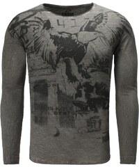 Pánské antracitové tričko CARISMA Eagle