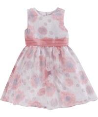 Eisend Kleid mit Blütenmuster und Taillenband