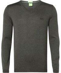 Boss Green Pullover aus reiner Schurwolle