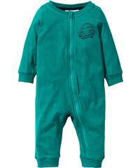 bpc bonprix collection Grenouillère bébé en coton bio vert enfant - bonprix