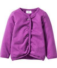 bpc bonprix collection Gilet sweat bébé en coton bio violet enfant - bonprix