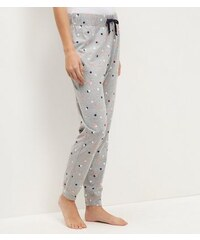 New Look Pyjamahose mit Punktmuster in Rosa