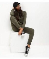 New Look Khakifarbener Jumpsuit aus Sweatshirtmaterial