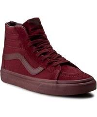 Sneakersy VANS - Sk8-Hi Reissue Zip VN0004KYJUW (Mono) Port Royale