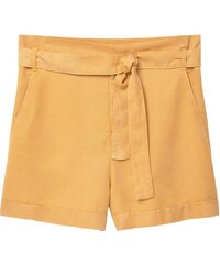 Mango PAPER Short yellow
