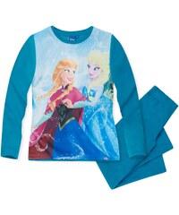Disney Die Eiskönigin Pyjama türkis in Größe 104 für Mädchen aus 100 % Polyester