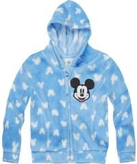 Disney Mickey Coral Fleece Jacke blau in Größe 3M für Jungen aus 100 % Polyester