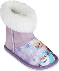 Disney Die Eiskönigin Hausschuhe lila in Größe 24/25 für Mädchen aus 100% Polyester