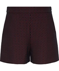 HALLHUBER Jacquard Shorts mit Wabenmuster