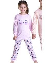 Taro Dívčí pyžamo Ada růžové