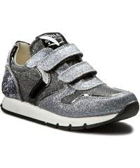 Sneakersy VOILE BLANCHE - Liam Velcro Junior 0012010586.06.9152 Acciaio