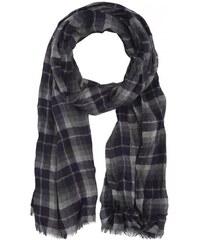 Smith Herren Schal blau mit Wolle