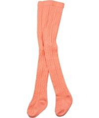 Dirkje Dívčí vzorované punčocháče - oranžové