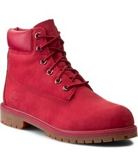 Trapperschuhe TIMBERLAND - 6 In Premium Wp Boot A13HV Red