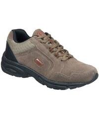 Große Größen: Brütting Nordic Walking Schuh zum Schnüren mit Geldämpfungssystem »CIRCLE«, BRAUN/BORDEAUX/SCHWARZ, Gr.43-44