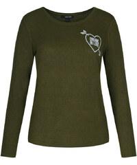 Tally Weijl Grünes Langarmshirt