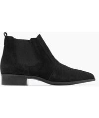 Esprit Puristické kotníčkové boty ze semiše