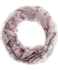 Damen Loop-Schal mit Schlangenprint CODELLO lila